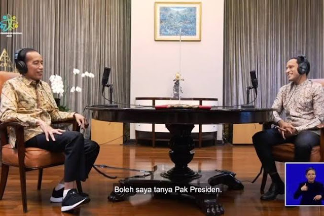 Jokowi Akui Tipe Pelajar Tak Mau Kalah Ketika Sekolah