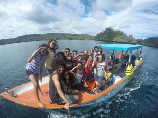 Speedboat Raja Ampat