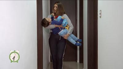 Mônica aprende dicas para os pequenos dormirem melhor - Divulgação/SBT
