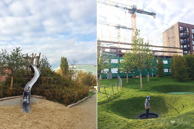 Hamburg mit Kindern | Spielplatz im Lohsepark