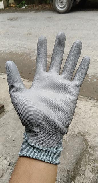 lớp phủ pu lòng bàn tay dầy dặn