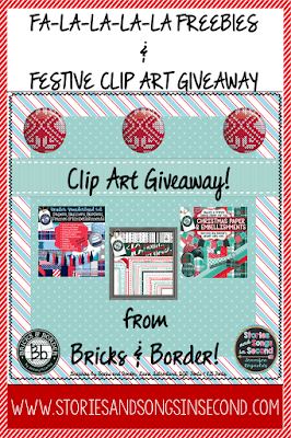 Bethany from Bricks and Border is a new TpT clip artist that deserves your attention! Enter this giveaway to win three of her new seasonal digital paper and accent sets!