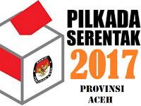 Nomor Urut Calon Gubernur Aceh 2017
