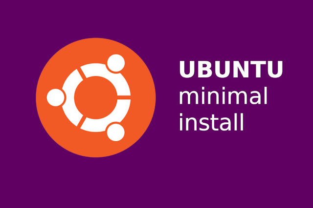 cara install ubuntu minimal package