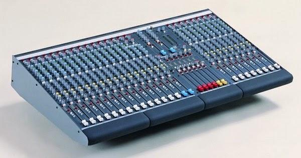 Simple Audio Mixer Circuit Schematic