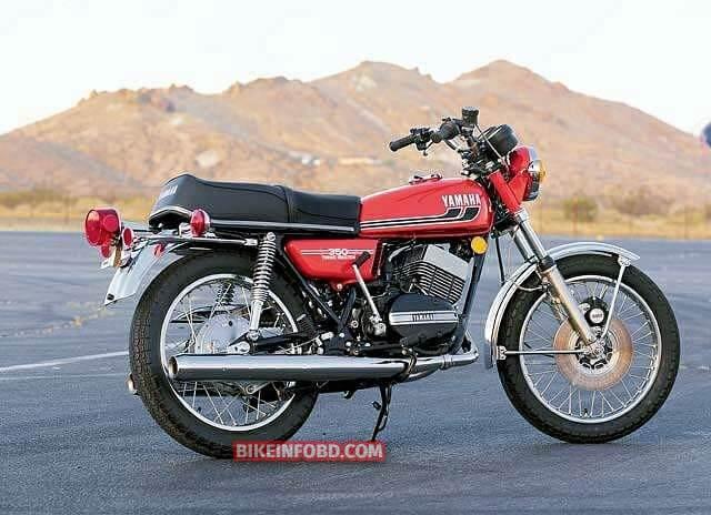 Yamaha RD250 1975