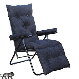 bi3 Household Multi function Portable Adjustable Lazy Recliner Chair
