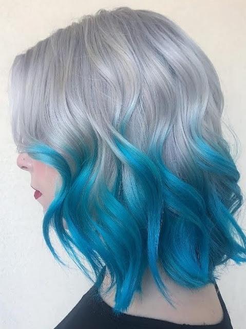 colores de pelo 2020 bicolor