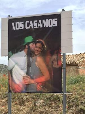 cartel, nos casamos, David Millán Gascón