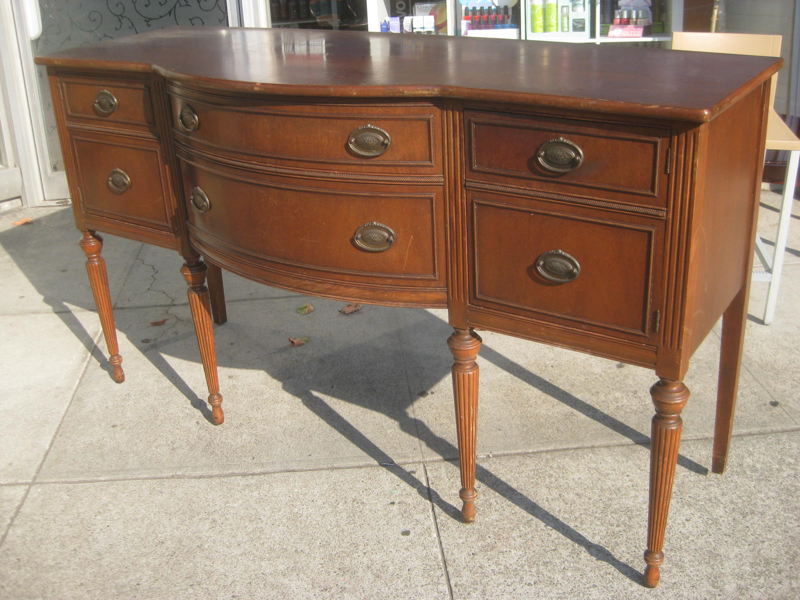 Sold Duncan Phyfe Sideboard 200