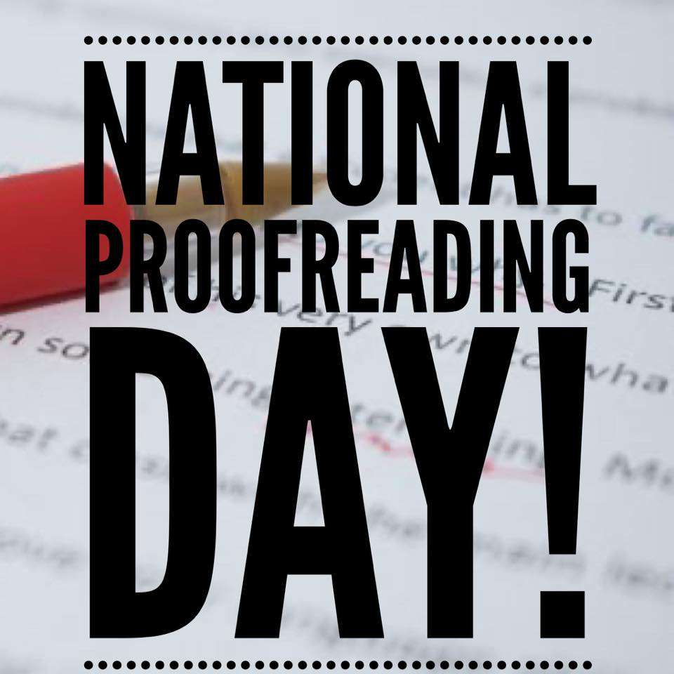 National Proofreading Day Wishes Unique Image