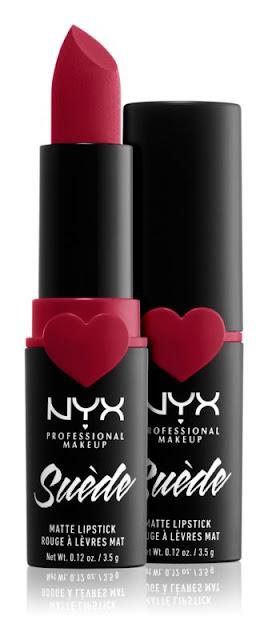 Nyx Suede Matte Lipstick rúž