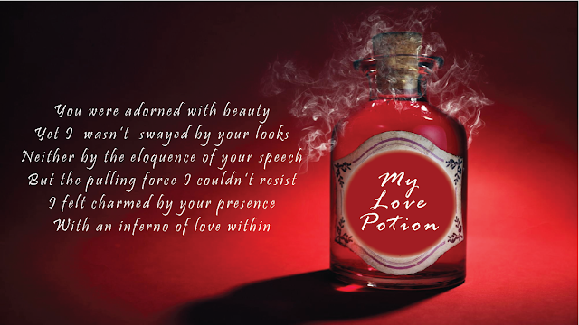 My Love Potion [poem]