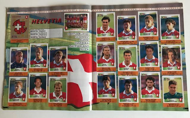 Figurine Svizzera Euro 96