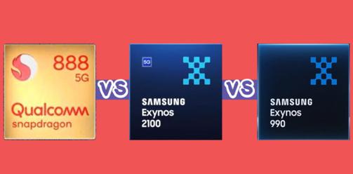 Snapdragon-888-Vs-Exynos-2100-Vs-Exynos-990