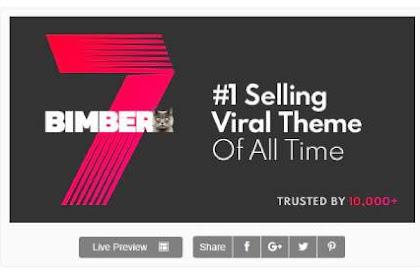 Download Theme Wordpress Viral Magazine Bimber