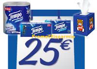 Logo Concorso ''Vinci la spesa con Tempo'' In buoni spesa da 25€