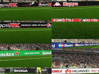 PES 2018 New Global Adboard Pack