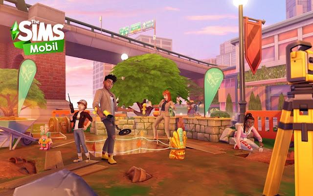 The Sims Mobile Hileli APK - Para Hileli APK