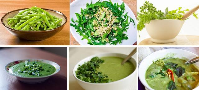 польза от зеленых продуктов