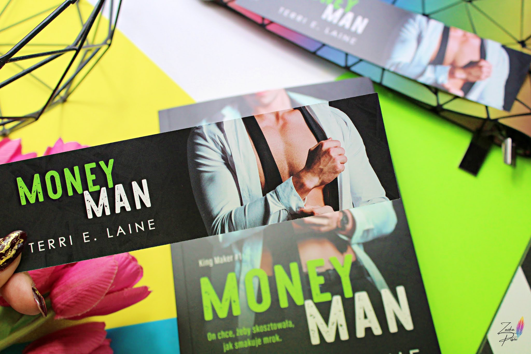 "Terri E. Laine ""Money Man"" - patronacka recenzja książki"