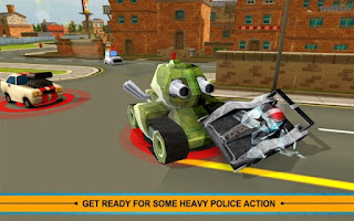 Download Blocky Cop Pursuit Terrorist v1.3 Apk (Mod Money)