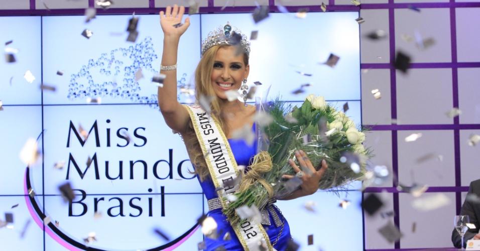 Mariana Notarângelo, Miss Mundo Brasil 2012