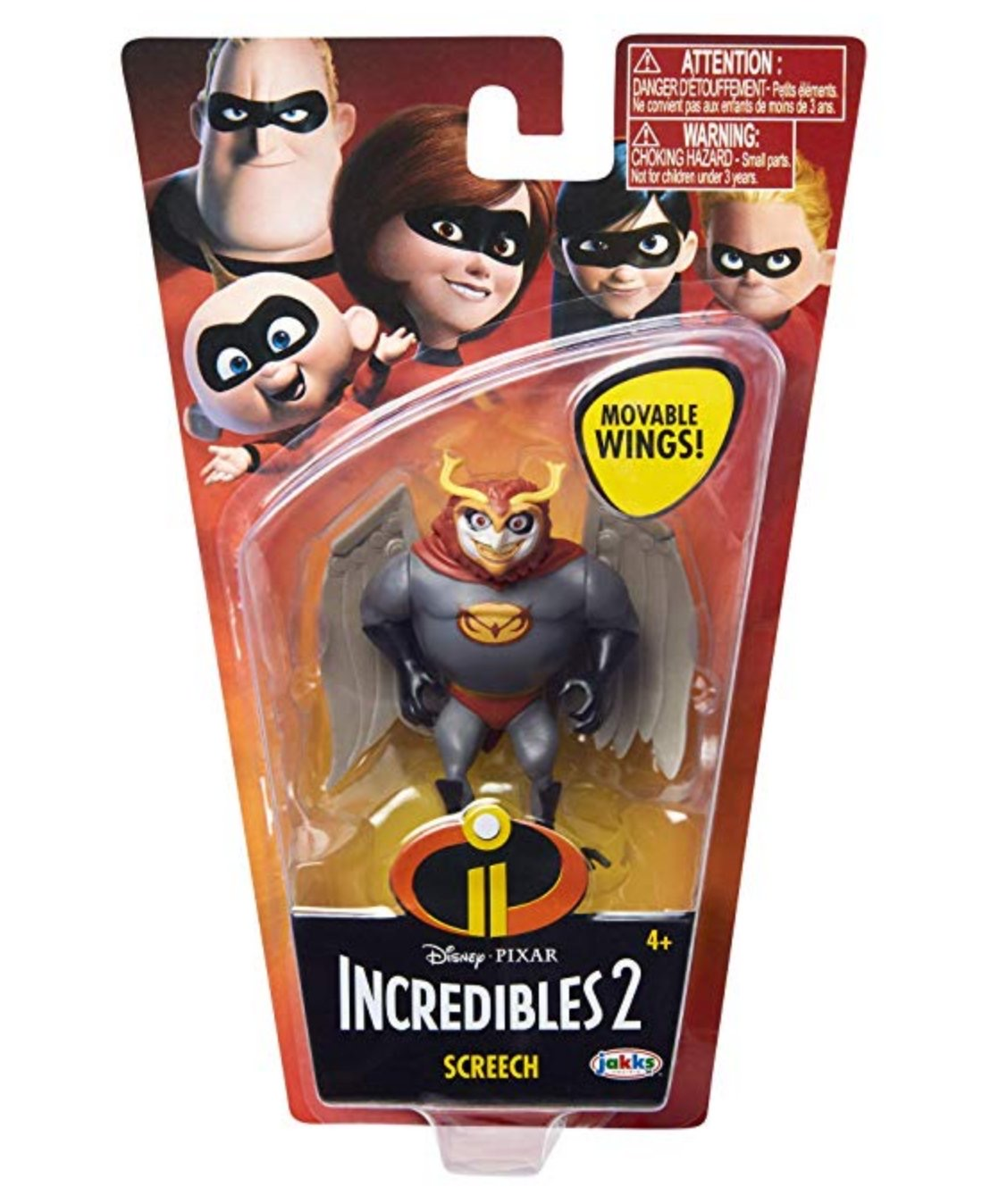 incredibles 2 wave 3 screech figure