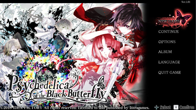 Psychedelica of the Black Butterfly announced for steam.