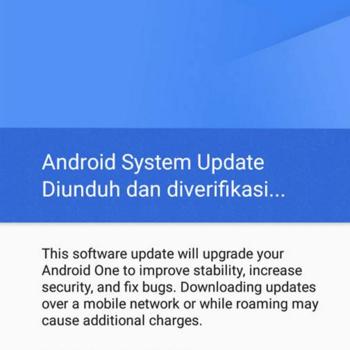 cara memperbarui system android