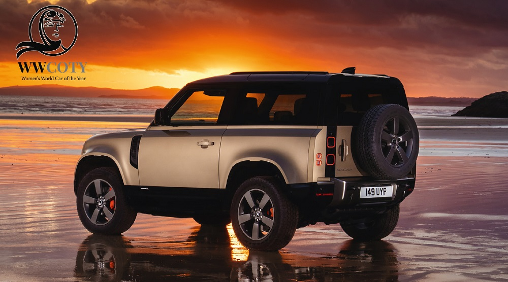 Land Rover Defender wins Women's World Car of the Year 2021