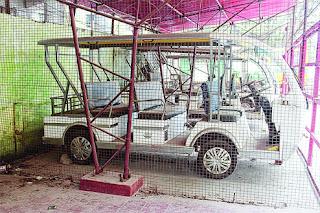 Battery-operated cars lie unused in  GTA office  Darjeeling