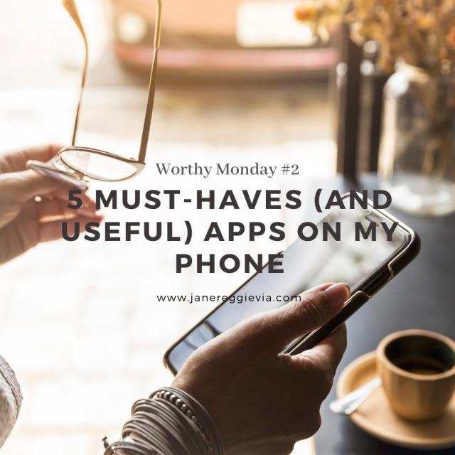 Worthy Monday #2: 5 Aplikasi Wajib dan Berguna di HP (Mama Josh Approved!)