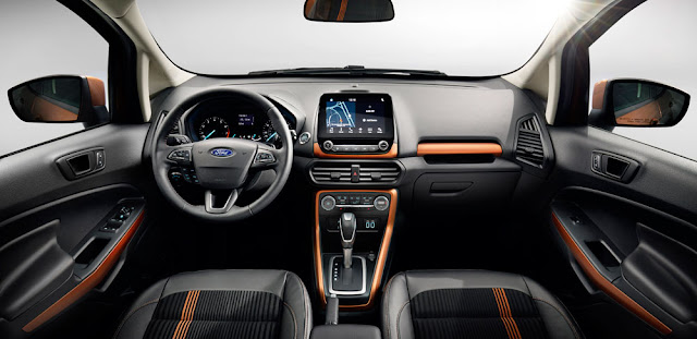2018 Ford EcoSport interior - Subcompact Culture