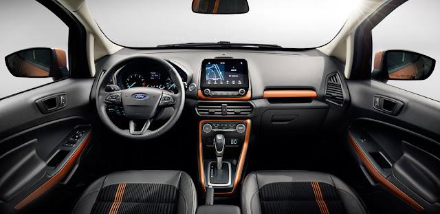 2018 Ford EcoSport interior - Subcompact Culture