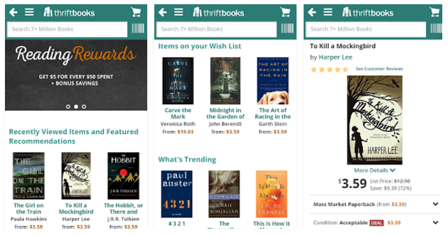 ThriftBooks, apps for your New & Used Books hunt - Youth