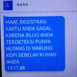 Cara Daftar dan Registrasi Kartu Telkomsel Melalui SMS 4444