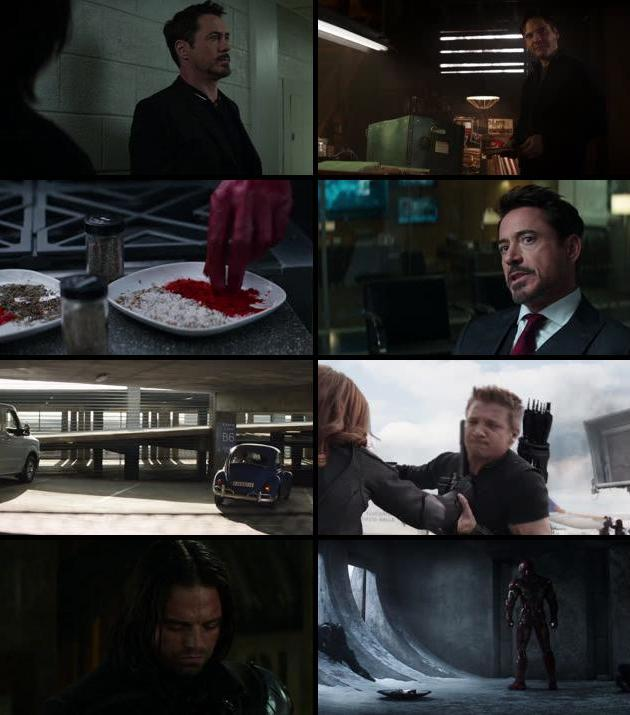 Captain America Civil War 2016 Dual Audio ORG Hindi 480p BluRay 450mb