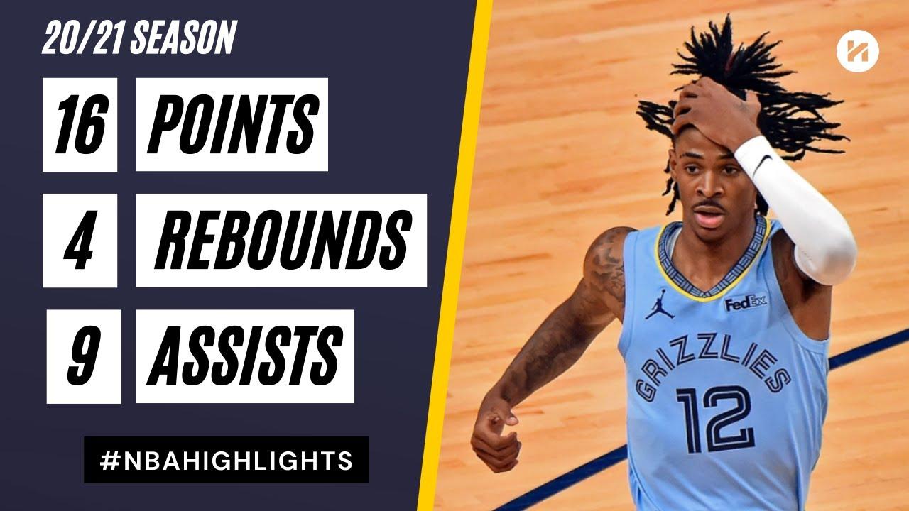 Ja Morant 16pts 9ast vs DEN | March 12, 2021 | 2020-21 NBA Season