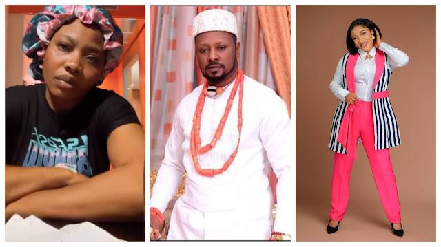 He is a blackmailer, he blackmail for a living- Actress Doris Ogala exposes Tonto Dikeh-exlover Prince Kpokpogri (Video)