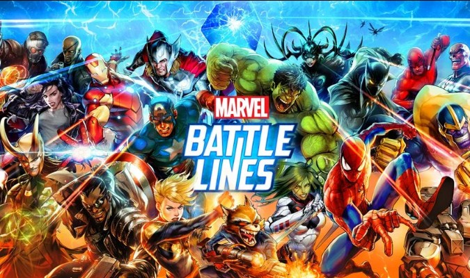 Game Superhero Terbaik tuk Smartphone Android - Marvel Battle Lines