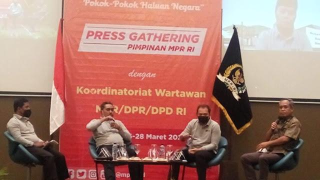 Pimpinan MPR : Tak Ada Agenda Bahas Jabatan Presiden Tiga Periode