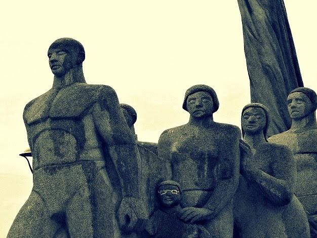 Monumento Açorianos, em São José