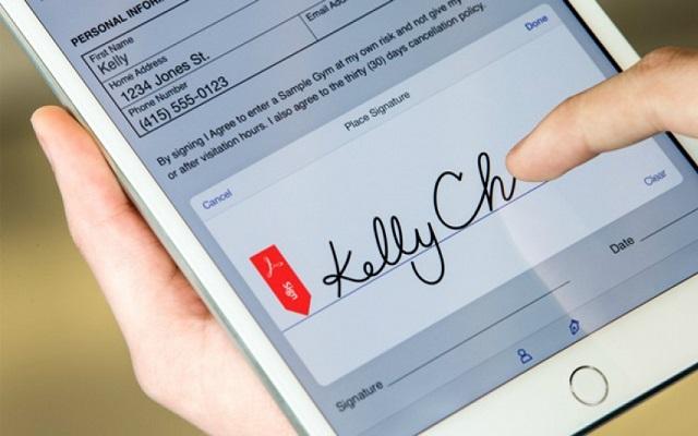 أفضل 5 تطبيقات أندرويد لتوقيع الوثائق بخط يديك