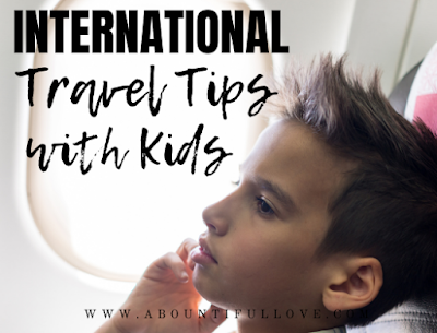 How to Travel International with Toddlers