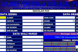 Aplikasi Rekap Siswa Baru Sesuai Dapodik (Excel:Mudah Diedit)