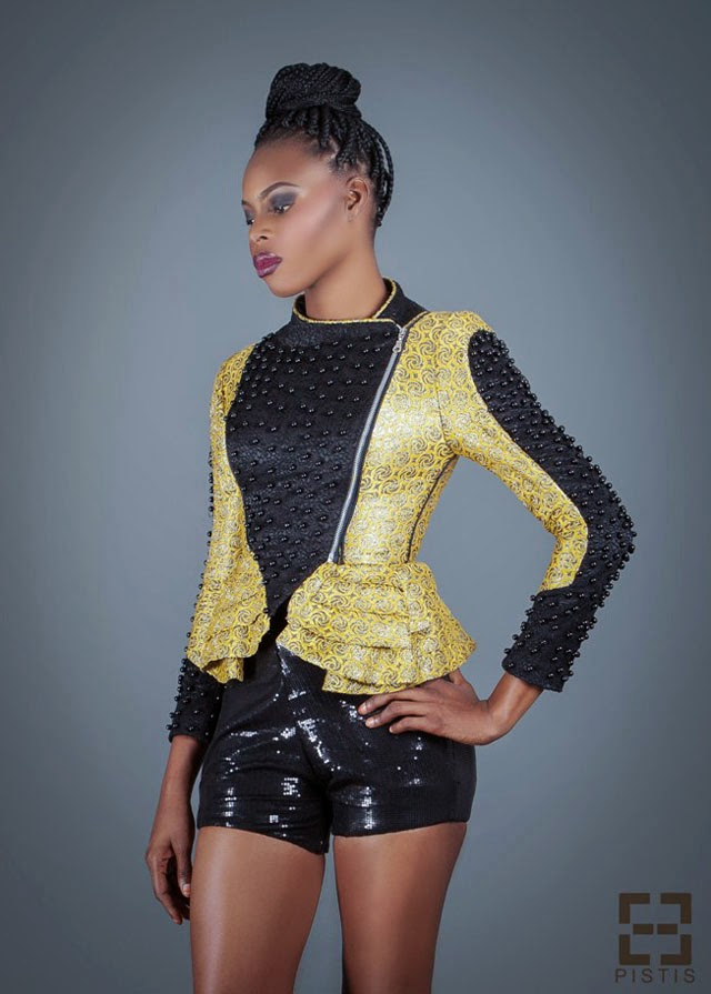 African print fashion blazer  from Pistis- Ghanaian  designer  #ankara #africanfashion  see more on ciaafrique.com