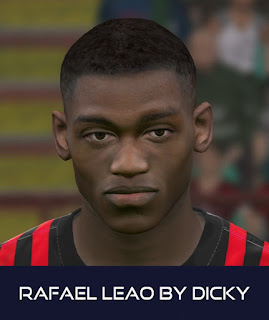 PES 2017 Faces Rafael Leao by Dicky