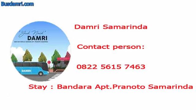 Damri Samarinda, Inilah Transportasi Bandara APT Pranoto
