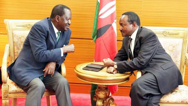 NASA principals Raila and Kalonzo